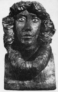 Φράνκα, 1977, χαλκός, ύψος 46 εκ., ιδιωτική συλλογή, Αθήνα