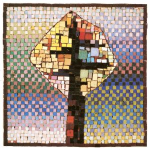 Δέντρο, 1973, ψηφιδωτό, 55 x 60 εκ., ιδιωτική συλλογή