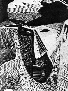 Αρμένης, 1967, ξυλογραφία, 33,4 x 24 εκ.