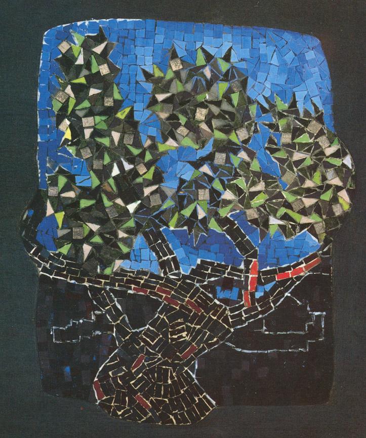 Ελιά, 1979, ψηφιδωτό, 50 x 36 εκ., ιδιωτική συλλογή