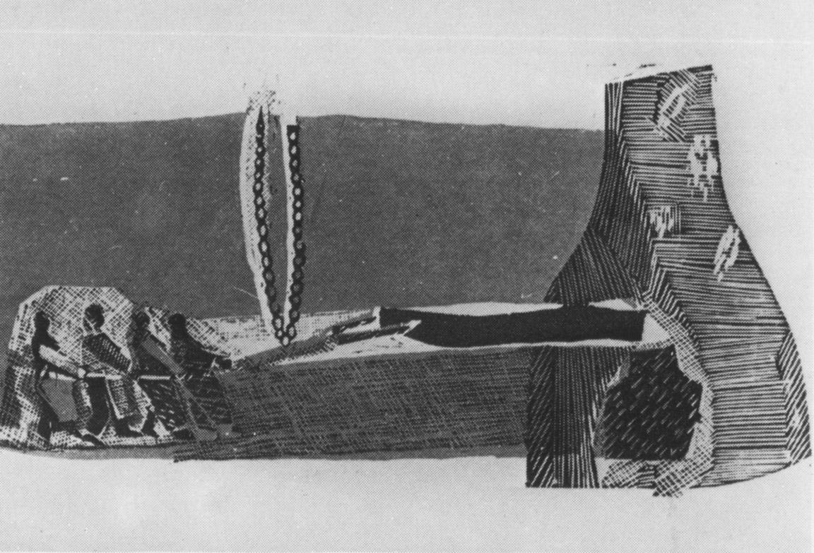 Τσέπελ, 1958-60, έγχρωμη ξυλογραφία, 13,6 x 16,5 εκ.