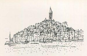 Ρόβινι, 1973, μελάνι σε χαρτί, 12,5 x 17,5 εκ., ιδιωτική συλλογή