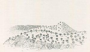 Κρήτη, 1978, μελάνι σε χαρτί, 29.3 x 40 εκ., ιδιωτική συλλογή